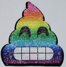 Rainbow Poop: Sequin Patch