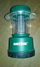 Rayovac  Plastic  Krypton  Floating Lantern  D  Green with carry handle