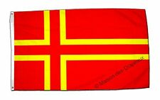 Drapeau FRANCE NORMANDIE CROIX DE SAINT OLAF  Qualité TOP 90x150cm drapeaux