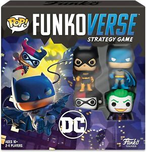 Funko POP! Funkoverse DC Comics 100 Strategy Board Game (4 Character) in English