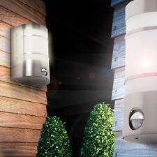 Wand Garten-Lampe Haus Tür Leuchte Glas Außen-Lampe mit Bewegungsmelder Sensor