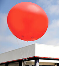 Giant Vinyl Helium Inflatable - 9' Red Ball