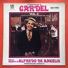 La Resurrection De Carlos Gardel Vol 2 Alfredo De Angelis UA LATINOS 1975 MINT