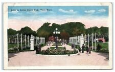 Early 1900s Waco, TX, Scene in Cotton Palace Park Postcard