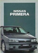 CATALOGUE VOITURE PUB. AUTO AD.NISSAN PRIMERA  2002  EN ITALIEN