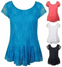 Lace Evening, Occasion Peplum Tops for Women