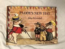 John S Goodall - Paddy's New Hat - 1981, Lovely Ilustrated Book