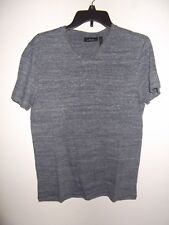 MARC ANTHONY - MEN - T-SHIRT - MEDIEVAL BLUE - SIZE SMALL          (AC-27-358)