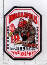 Indiana - Indianapolis Engine 19 Ladder 19 IN Fire Dept Fire Patch