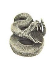 Rattle Snake Pewter Pin