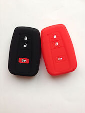 2pc Fob Remote Key Case Cover for Toyota Prius C Land Cruiser Tacoma 2015