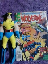 wolverine minus 1 -1 marvel comics and toy lot plush teach your child to read!