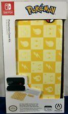 PowerA Protection Case Kit for Nintendo Switch Lite Pokémon Checkerboard Yellow