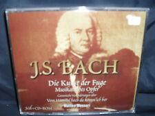 J.S. Bach - Die Kunst Der Fuge / Musikalisches Opfer -Matteo Messori -3CD-Box