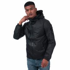 Mens Duck And Cover Goodman Lightweight Jacket In Navy- Zip Fastening- Popper