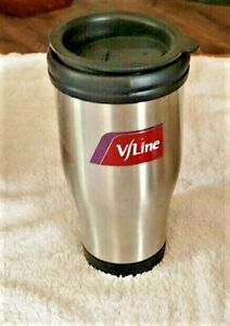 """""""VLine Thermos Mug"""" Excellent Pre-Owned Condition !"""