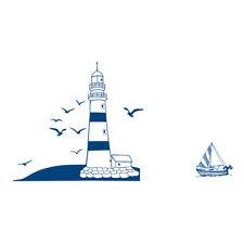 Wandsticker Wandtattoo Segelboot Tower Foto WandAufkleber 22.5*50cm R4G6 A4X4
