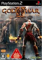 Used PS2 God of War II: The End Begins  SONY PLAYSTATION 2 JAPAN