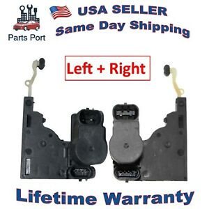 Set of 2 Door Lock Actuator Motor Left + Right 746-011 746-017