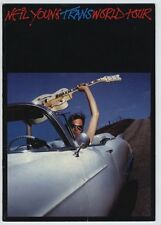 Neil Young - Trans World Tour Uk Program August 31-October 15 1982