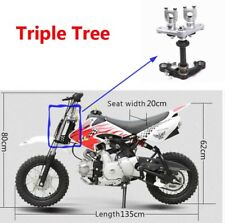 CRF50 Binocular Forks Triple Tree Set Front Forks 260mm For Chinese Dirt Bike