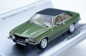 Opel Commodore B GS Coupé Bj. 1972-1977, grünmetallic, Schuco-Modell 1:43, OVP