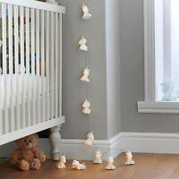 Unicorn String Lights White Indoor Fairy Novelty Battery 10 LED Kids Children