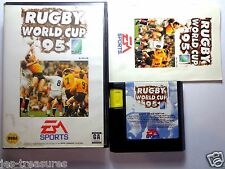 RUGBY WORLD CUP 95 Complete For Sega MegaDrive Mega Drive Game Console