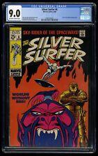 Silver Surfer #6 CGC VF/NM 9.0 Off White to White Marvel Comics