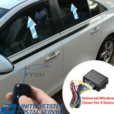 4-Door Window Closer Module Automatic Roll Up Working Alarm System Kit