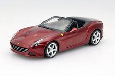 Ferrari California T ouverture rouge foncé 1:24 Bburago