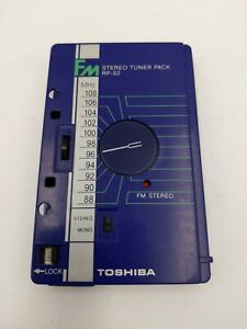 Toshiba FM STEREO TUNER PACK Model RP-S2 Cassette Made in Japan