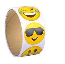 "Emoji Sticker Roll (100 Stickers) 1 1/2"""