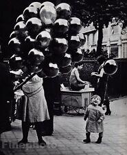 1931/68 Vintage PARC MONTSOURIS Child Balloon France Photo Art 11x14 By BRASSAI