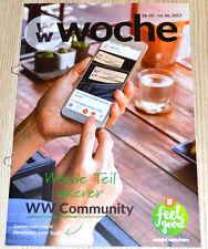 Weight Watchers Feel Good Week 28.5 - 3.6 Smart Points 2017 Week Brochure New