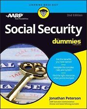Social Security for Dummies by Jonathan Peterson (2016, Paperback)