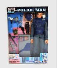 Power Team Police Man 12 Inch Action Figure M&C Toy Center