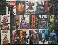 Batman Curse of the White Knight #1-8 First Prints + Variants + Von Freeze DC