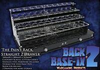 Paint Bottle Rack Modular Organizer for GW Citadel 12ml Paint 34 Pots & 2 Drawer