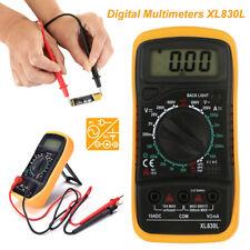 Digital LCD Multimeter Voltmeter Ammeter AC DC OHM Volt Tester Test Current UK