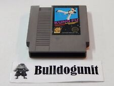 Authentic Kung Fu Black Box Action Series NES Nintendo Game Only