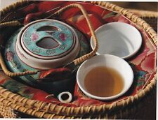 "~Post Card~""Traditional China/Hong Kong Teapot & Cups""  /A Picture/  (B221)"