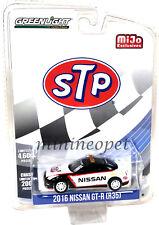 Greenlight 51146 2016 Nissan Skyline Gt-R R35 Stp Safety Car 1/64 Black White