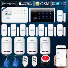 KERUI W18 WIFI GSM Home Security Alarm System Wireless RFID Keypad