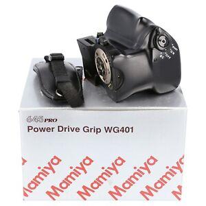 Mamiya WG401 Power Drive Grip Motor Winder for M645 Super 645 Pro TL (QK1393)