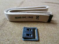 WWII US ARMY INFANTRY ENLISTED WEB TROUSERS PANTS WAIST BELT- S,M,L,XL,XXL