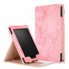 """Painted PU Leather Smart Flip Case Cover for 6"""" Amazon Kindle Paperwhite 1 2 3 4"""