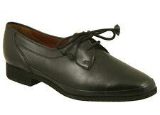 Mesdames Barker Ruth Noir pittards ovins chaussures UK 7,5 montage d