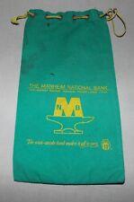 MANHEIM, PA THE MANHEIM NATIONAL BANK CANVAS BANK BAG