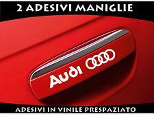 ADESIVI  MANIGLIE AUDI STICKERS A1 A3 A4 Q3 Q5 Q7 TT AUTO